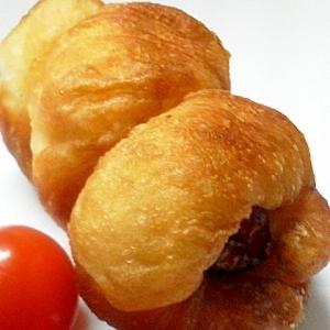 ウインナー揚げパン♪(HB生地)