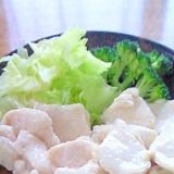 水晶鶏(ムネ肉柔らか茹で)