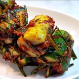 韓国レシピ キュウリのキムチ(オイソバキ)