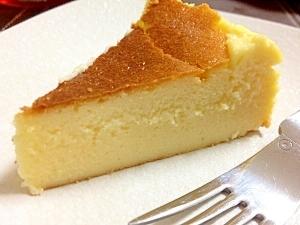 濃厚しっとり☆お店の味!超簡単チーズケーキ