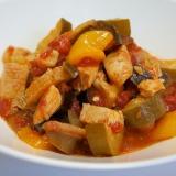 南フランスの家庭料理~鶏むね肉のラタトゥイユ