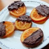 バレンタインにも❤簡単なドライオレンジチョコ♪