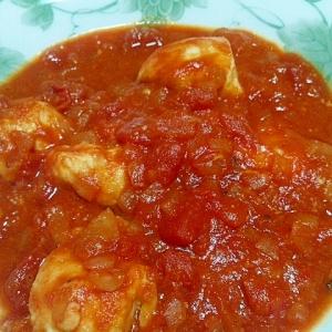 簡単☆鶏肉のトマト煮