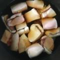 鮭の白子のサッと煮