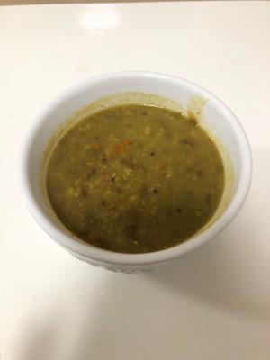 ムング豆とレンズ豆のダルスープ