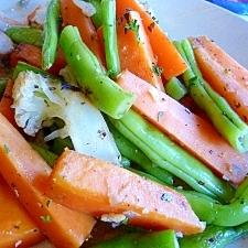 温野菜のハーブソテー