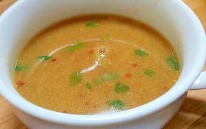 カレーパウダーを使って簡単スープ