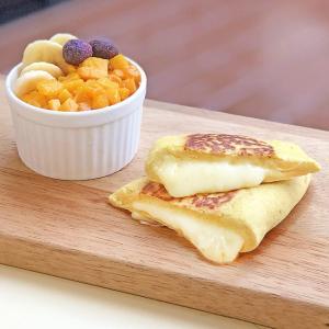オオバコとおからパウダーで低糖質カレーチーズナン