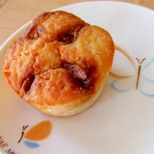発酵ケーキ イチジクの米粉マフィン