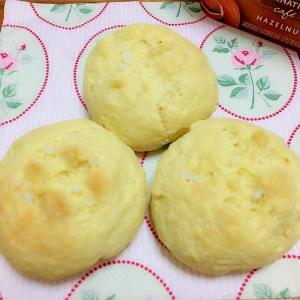 HM ホットケーキミックスで簡単 塩バターパン♪