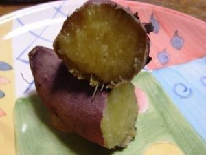 タジンで焼いた蜜芋の焼き芋