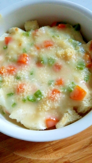 離乳食☆野菜たっぷりパングラタン