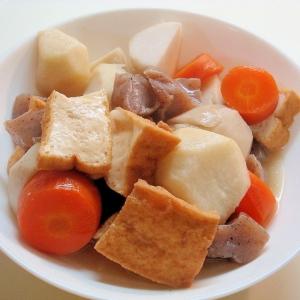 里芋は今が旬★根菜とコンニャクの煮物~♪