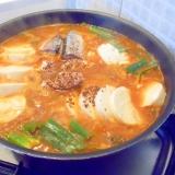 おぼろ豆腐入りキムチ鍋