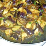 麻婆豆腐の素で作る麻婆茄子