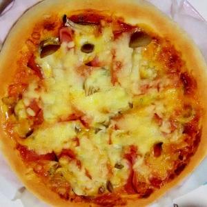 ふっくらパンピザ++