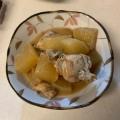 基本の和食・鶏大根。