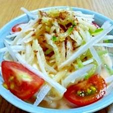 簡単で美味しい豆腐サラダ