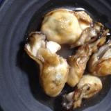 牡蠣のバター焼き