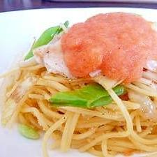辛子明太子スパゲッティ