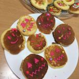 3歳児と一緒に♡ハロウィンのパンケーキ(^^)