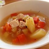 簡単ポカポカ豆腐スープ