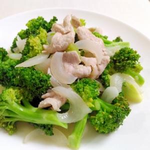 ボリュームおかず☆豚肉とブロッコリーの中華炒め