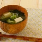 豆腐のお味噌汁 Tofu Miso Soup