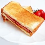 スパムトーストサンド