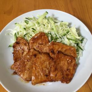 お弁当にも使える♪豚肉のラー油焼き