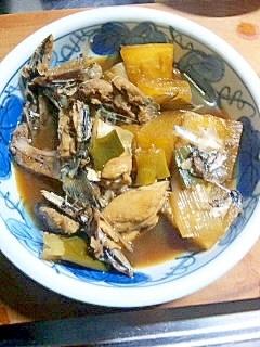 料理下手が作る 鯖の頭と大根煮