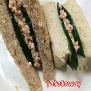 朝ごはんにピッタリ☆鮭マヨサンドイッチ