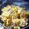 激安でボリュームのある豆腐チャンプルー