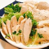 放置で簡単!鶏胸肉の柔らかサラダチキン