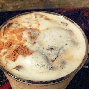 手づくりきな粉と豆乳のアイスコーヒー♪