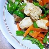 鶏むね肉と野菜の創味シャンタン炒め★