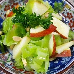 キャベツリンゴの檸檬サラダ