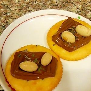 福豆のミントチョコリッツ