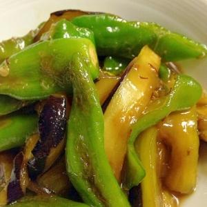 茄子と万願寺の味噌炒め☆簡単ピリ辛☆