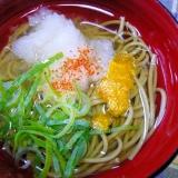 ❤ 柚子&大根おろし入り抹茶蕎麦 ❤