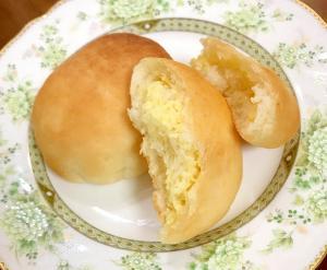 全卵カスタードで作るクリームパン