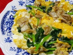 きのこ 卵 レシピ