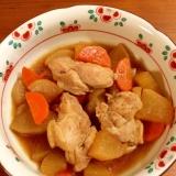 【中華風】鶏と大根の煮物