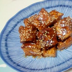 厚揚げの甘味噌焼き++