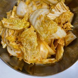 白菜の韓国風サラダ