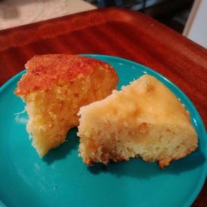 炊飯器で簡単♪もちふわ♪さつまいもヨーグルトケーキ