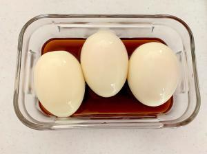 簡単!味付け卵