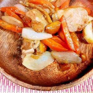 簡単 バルサミコ酢de豚ヒレ酢豚