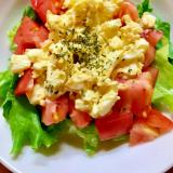 ミモザ風生野菜サラダ
