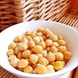 【圧力鍋レシピ】ひよこ豆の戻し方